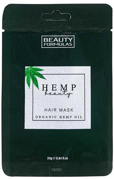 Haarmaske mit Bio-Hanföl - Beauty Formulas Hemp Beauty Hair Mask