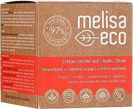 Düfte, Parfümerie und Kosmetik Straffende Anti-Falten Gesichtscreme - Melisa Eco
