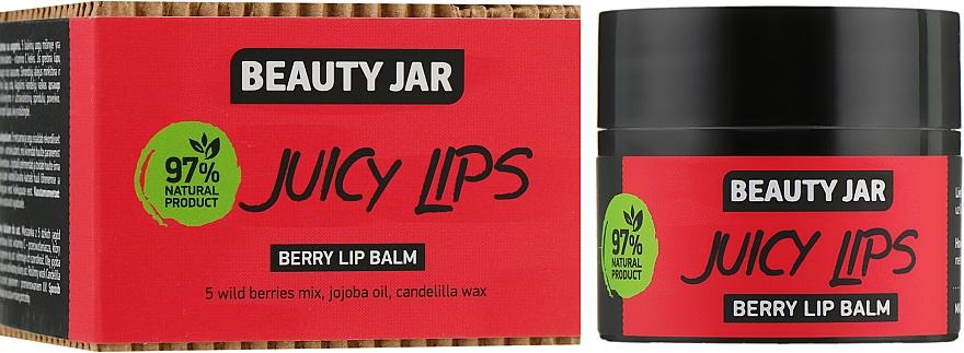 Lippenbalsam mit Wildbeeren, Jojobaöl und Candelillawachs - Beauty Jar Berry Lip Balm