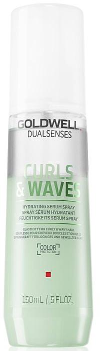 Feuchtigkeitsspendendes Haarserum-Spray für lockiges und welliges Haar - Goldwell Dualsenses Curls & Waves