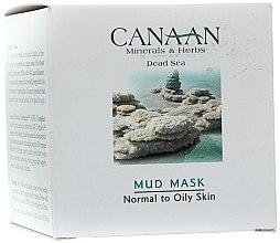 Düfte, Parfümerie und Kosmetik Schlammmaske mit Mineralien aus dem Toten Meer - Canaan Minerals & Herbs Mud Mask Normal to Oily Skin