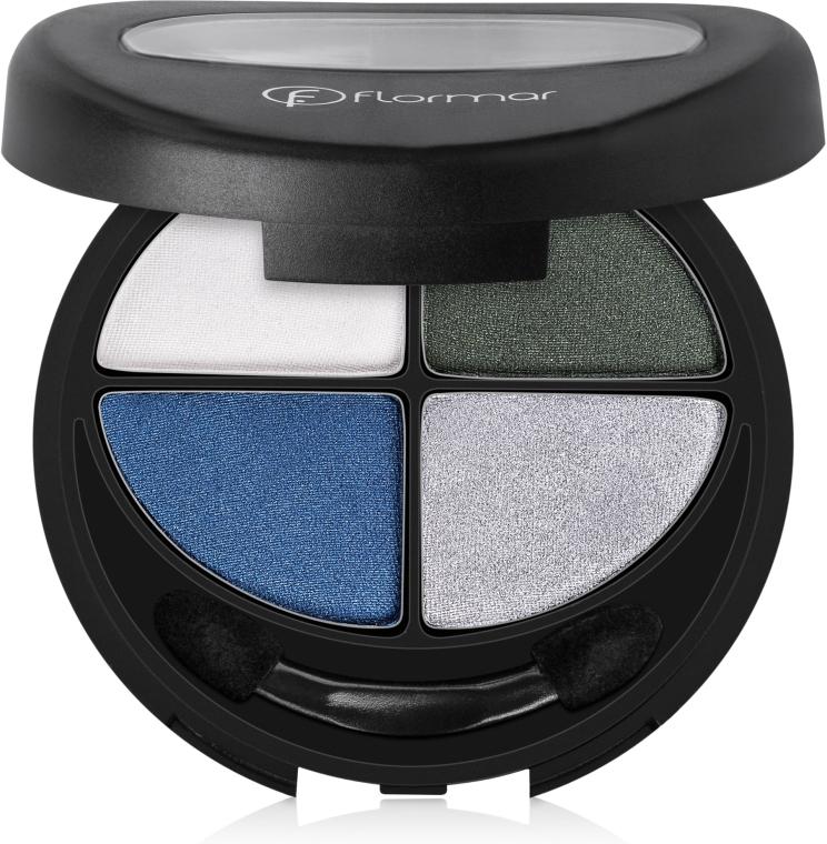 Lidschatten - Flormar Compact Quartet Eye Shadow — Bild N1