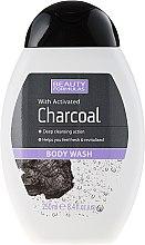 Düfte, Parfümerie und Kosmetik Duschgel mit Aktivkohle - Beauty Formulas Charcoal With Activated Body Wash
