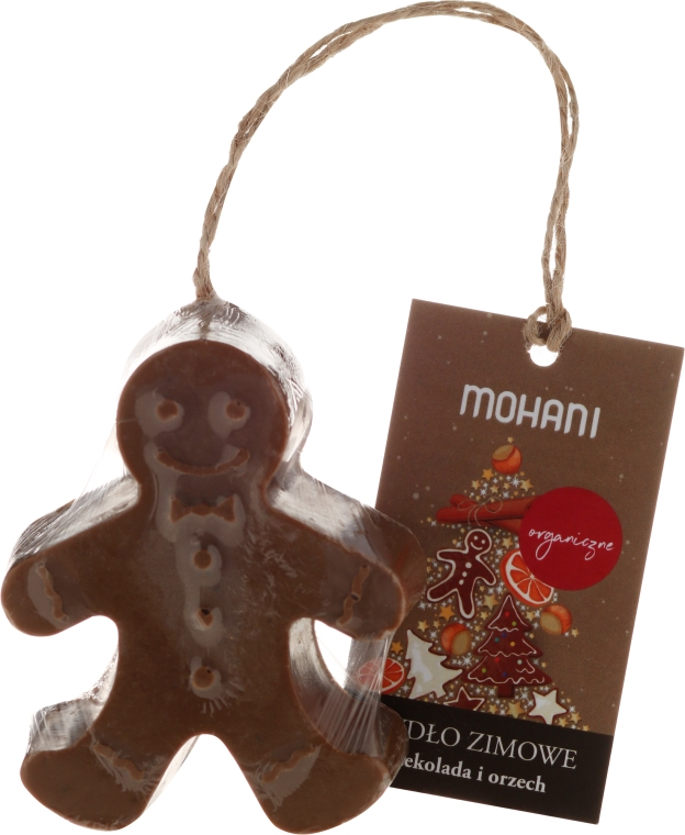 Bio Winterseife mit Schokolade und Walnuss - Mohani