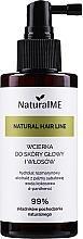 Düfte, Parfümerie und Kosmetik Wachstumsstimulierende Kopfhaut- und Haarlotion mit Rosmarin und Kokoswasser - NaturalME Natural Hair Line Lotion