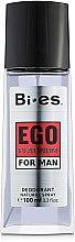 Düfte, Parfümerie und Kosmetik Bi-Es Ego Platinum - Parfum Deodorant Spray