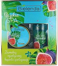 Düfte, Parfümerie und Kosmetik Körperpflegeset - Bielenda Exotic Paradise Figa (Körperpeeling 350g + Körperbutter 400ml)