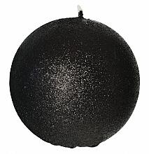 Düfte, Parfümerie und Kosmetik Dekorative Kerze in Kugelform schwarz 10 cm - Artman Glamour