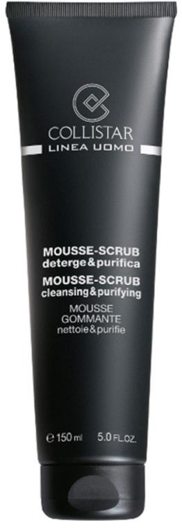 Reinigendes Mousse-Peeling für das Gesicht - Collistar Uomo Mousse-Scrub Cleansing & Purifying — Bild N1