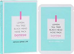 Düfte, Parfümerie und Kosmetik Nasen-Patches gegen Mitesser - Borntree Lemon Teatree Black Head Nose Pack