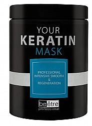 Intensiv glättende und regenerierende Haarmaske mit Keratin - Beetre Your Keratin Mask