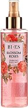 Düfte, Parfümerie und Kosmetik Bi-es Blossom Roses Sparkling Body Mist - Parfümierter Körpernebel mit aufhellender Wirkung