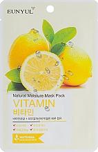Düfte, Parfümerie und Kosmetik Feuchtigkeitsspendende Tuchmaske mit Vitaminen - Eunyul Natural Moisture Mask Pack Vitamin