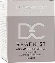 Düfte, Parfümerie und Kosmetik Regenerierende Anti-Falten Nachtcreme 40+ - Dermedic Regenist ARS 4 Phytohial Night Anti-Wrinkle Enhancing Renewal Cream