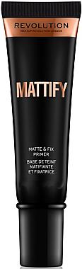 Mattierender Gesichtsprimer - Makeup Revolution Mattify Primer