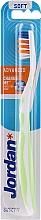 Düfte, Parfümerie und Kosmetik Zahnbürste weich weiß-hellgrün - Jordan Advanced Soft Toothbrush
