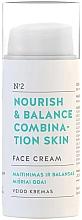 Düfte, Parfümerie und Kosmetik Nährende und ausgleichende Gesichtscreme für Mischhaut - You & Oil Nourish & Balance Combination Skin Face Cream