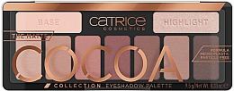 Düfte, Parfümerie und Kosmetik Lidschatten-Palette - Catrice The Matte Cocoa Collection Eyeshadow Palette