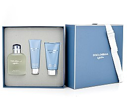 Dolce & Gabbana Light Blue Pour Homme - Duftset (Eau de Toilette 125ml + Duschgel 50ml + After Shave Balsam 75ml) — Bild N6