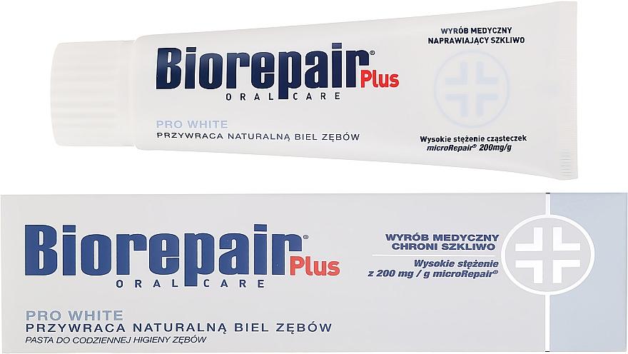 Aufhellende Zahnpasta Plus Pro White - BioRepair Plus PRO White