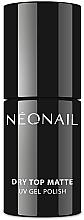 Düfte, Parfümerie und Kosmetik UV Nagelüberlack mit Matt-Effekt - NeoNail Professional Dry Top Matte