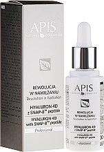 Düfte, Parfümerie und Kosmetik Feuchtigkeitsspendendes Gesichtsserum - APIS Professional Hyaluron 4D + Snap-8 Peptide