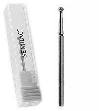 Düfte, Parfümerie und Kosmetik Diamant-Nagelfräser in Kugelform 004 grün - Semilac