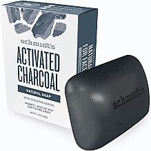 Düfte, Parfümerie und Kosmetik Natürliche Seife für Gesicht und Körper mit Aktivkohle - Schmidt's Naturals Bar Soap Activated Charcoal