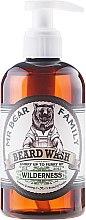 Düfte, Parfümerie und Kosmetik Sanftes Bartshampoo - Mr. Bear Family Beard Wash Wilderness