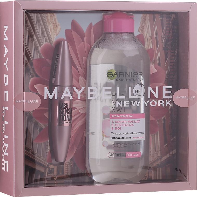 Make-up Set (Mascara 9.5ml + Mizellenwasser 400ml) - Maybelline New York