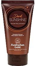 Düfte, Parfümerie und Kosmetik Selbstbräunungslotion mit Sheabutter und Zimtextrakt - Austraian Gold Sunscreen Dark Magnifying Bronzer Professional Lotion