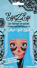 Düfte, Parfümerie und Kosmetik Augenpatches mit Kaffeeextrakt - 7 Days Eye2Eye Lace Hydrogel Eye Patches