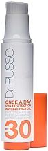 Düfte, Parfümerie und Kosmetik Sonnenschutzgel für das Gesicht SPF 30 - Dr. Russo Once A Day Sun Protection Invisible Face Gel SPF 30