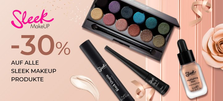 Sonderaktion von Sleek MakeUP