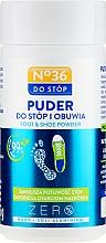 Düfte, Parfümerie und Kosmetik Hypoallergener Fuß- und Schuhpuder - Pharma CF No.36 Foot & Shoe Powder