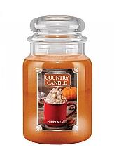 Düfte, Parfümerie und Kosmetik Duftkerze im Glas Pumpkin Latte - Country Candle Pumpkin Latte