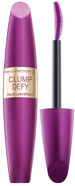 Mascara für voluminöse Wimpern mit Anti-Verklumpen-Bürste - Max Factor Clump Defy Mascara