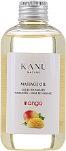 Düfte, Parfümerie und Kosmetik Olejek do masażu Mango - Kanu Nature Mango Massage Oil