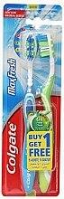 Düfte, Parfümerie und Kosmetik Zahnbürste mittel Max Fresh blau, grün 2 St. - Colgate Max Fresh Medium (2 St.)