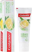 Düfte, Parfümerie und Kosmetik Zahnpasta Natural Extracts Ultimate Fresh - Colgate Natural Extracts Ultimate Fresh Lemon