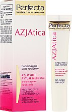 Düfte, Parfümerie und Kosmetik Augenkonturcreme - Dax Cosmetics Perfecta Azjatica White Eye Cream