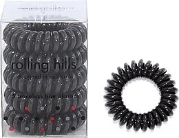 Düfte, Parfümerie und Kosmetik Spiral-Haargummis 5 St. dunkelbraun - Rolling Hills 5 Traceless Hair Rings Dark Brown