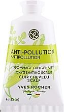 Düfte, Parfümerie und Kosmetik Sauerstoffhaltiges Detox Kopfhautpeeling mit Moringasamen - Yves Rocher Oxygenating Scrub