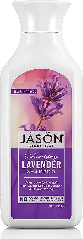 Shampoo für mehr Volumen mit Lavendel - Jason Natural Cosmetics Volumizing Lavender Shampoo — Bild N1
