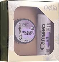 Düfte, Parfümerie und Kosmetik Haarpflegeset - Delia Cameleo (Shampoo 250ml + Haarmaske 200ml)