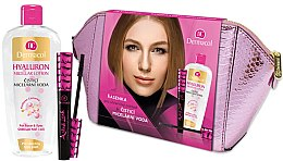 Düfte, Parfümerie und Kosmetik Gesichtspflegeset (Mizellenwasser 400ml + Wimperntusche 10ml + Kosmetiktasche) - Dermacol