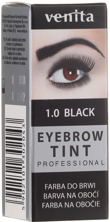 Augenbrauenfarbe - Venita Henna Proffesional
