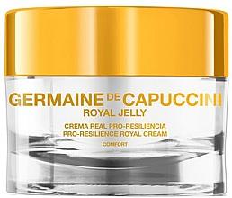 Düfte, Parfümerie und Kosmetik Verjüngende Gesichtscreme für gestresste Haut - Germaine de Capuccini Royal Jelly Pro-resilience Royal Cream Comfort
