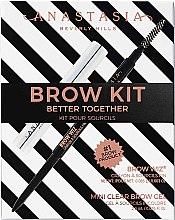 Düfte, Parfümerie und Kosmetik Anastasia Beverly Hills Better Together Brow Kit Soft Brown - Make-up Set (Augenbrauenstift 0.08g + Augenbrauengel 2.5g)