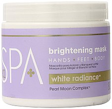 Düfte, Parfümerie und Kosmetik Aufhellende Körpermaske gegen Pigmentflecken - BCL Spa White Radiance Brightening Mask